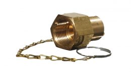 BRASS POL CAP & CHAIN FEMALE